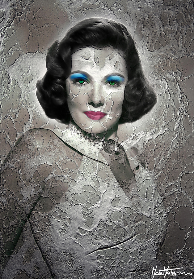 Gene Tierney art 2013 b modificato 1